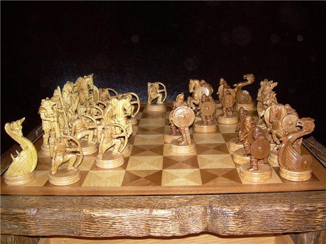 Шахматные фигурки из дерева своими руками 17