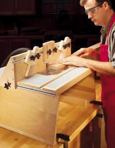 Самодельный фрезерный стол6 234x300 Самодельный фрезерный стол