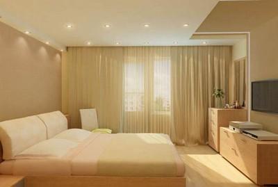 интерьер квартир с натяжными потолками фото