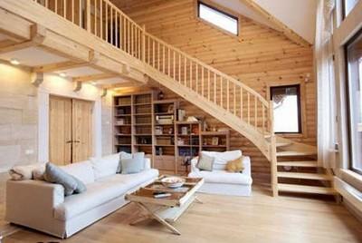 krasivyie intereryi derevyannyih domov Красивые интерьеры деревянных домов
